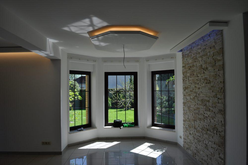Deckensegel - indirekte Deckenbeleuchtung mit LED von Ihrem Fachmann