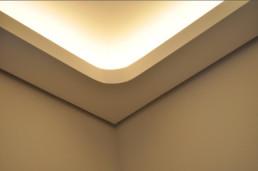 indirekteslicht.de Eckelement rund 90 Grad für Indirekte Beleuchtung mit Lichtvoute Bella