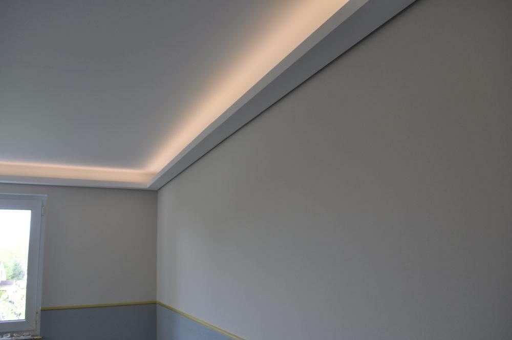 Lichtvoute bella easy indirekte beleuchtung f r den wohnraum - Weihnachtsbaumdecke mit led beleuchtung ...
